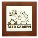 Beer Garden Framed Tile