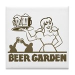 Beer Garden Tile Coaster