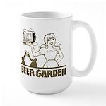 Beer Garden Large Mug