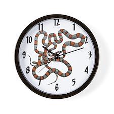 Greyband Kingsnake Wall Clock