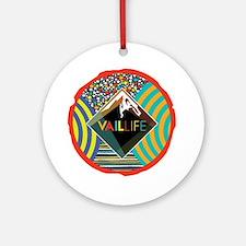 VailLIFE Addiction VII Ornament (Round)