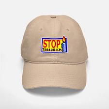 Stop Terrorism Baseball Baseball Cap