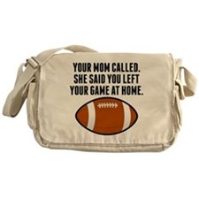 You Left Your Game At Home Messenger Bag