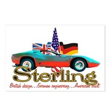 Unique Sterling Postcards (Package of 8)