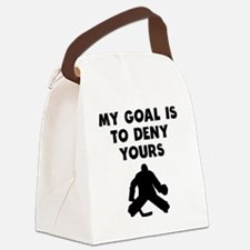 My Goal Is To Deny Yours Canvas Lunch Bag