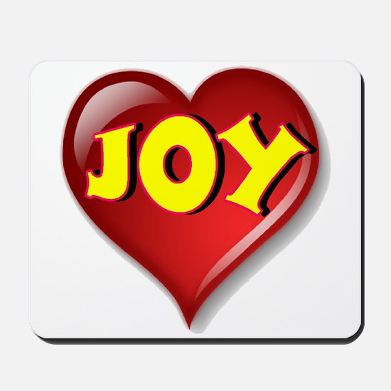 The Great Joy Heart Mousepad
