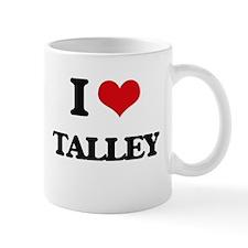 I Love Talley Mugs