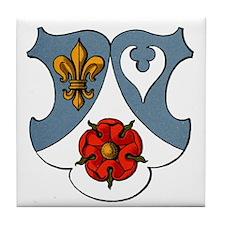 """Sir Dooney"" Tile Coaster"