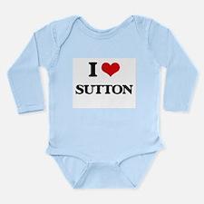 I Love Sutton Body Suit