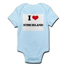 I Love Strickland Body Suit