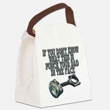 piston Canvas Lunch Bag