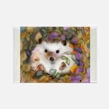 Funny Hedgehogs Rectangle Magnet