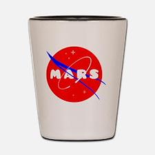 Unique Mars Shot Glass