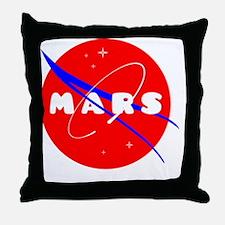 Cute Mars Throw Pillow
