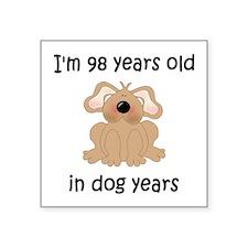 14 dog years 5 - 2 Sticker
