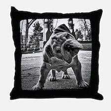 Dudley English Bulldog Throw Pillow