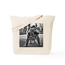 Dudley English Bulldog Tote Bag
