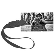 Dudley English Bulldog Luggage Tag