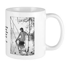 Island Girl Mugs -- To Give Thanks In Solitude Is