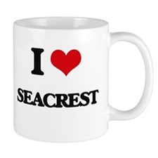 I Love Seacrest Mugs