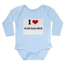 I Love Schumacher Body Suit