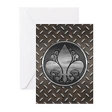 Fleur De Metal Greeting Cards (Pk of 10)