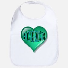 Hong Kong Heart Bib