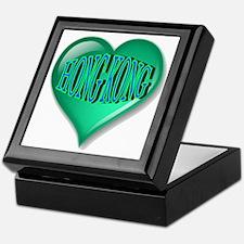 Hong Kong Heart Keepsake Box