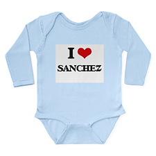 I Love Sanchez Body Suit
