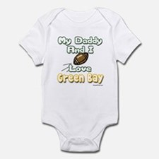 My Daddy and I Love Green Bay Onesie