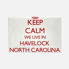 Keep calm we live in Havelock North Caroli Magnets