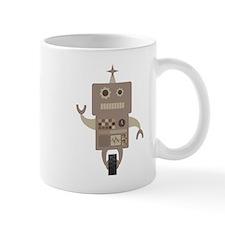 Brown Robot Mugs