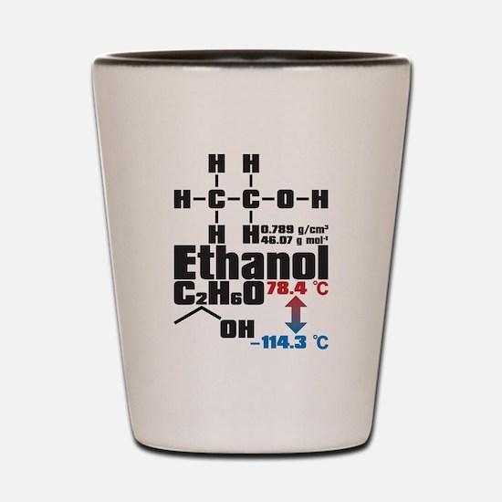 Ethanol Shot Glass