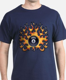 Flaming 8 T-Shirt