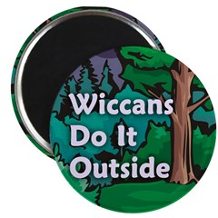 Wiccans Do It Outside Magnet (100 pack)
