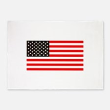 4th of July Old Glory Story America 5'x7'Area Rug