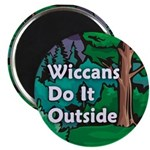 Wiccans Do It Outside Magnet (10 pack)