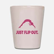 Just Flip Out. Shot Glass