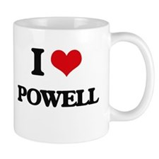 I Love Powell Mugs