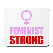 Feminist Strong Mousepad