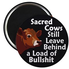 Sacred Cows & Bullshit Magnet (100 pack)