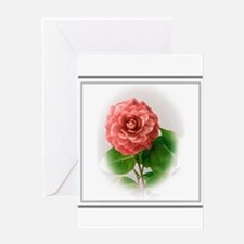 Valentine Camellia Greeting Cards