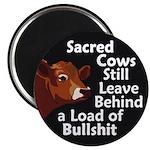 Sacred Cows and Bullshit Magnet (10 pack)
