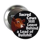 Sacred Cows & Bullshit Button (100 pack)