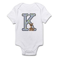 Animal Alphabet - K Is For Kangaroo Body Suit