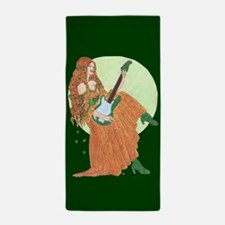 electric lady ireland Beach Towel