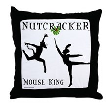 Mouse King Throw Pillow