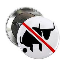 """Cute Bull shit 2.25"""" Button"""