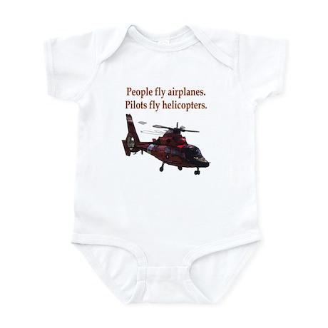 Pilots fly helis Infant Bodysuit