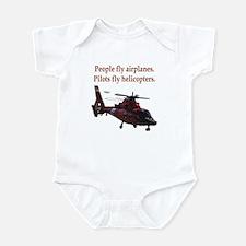 Pilots fly helis Onesie